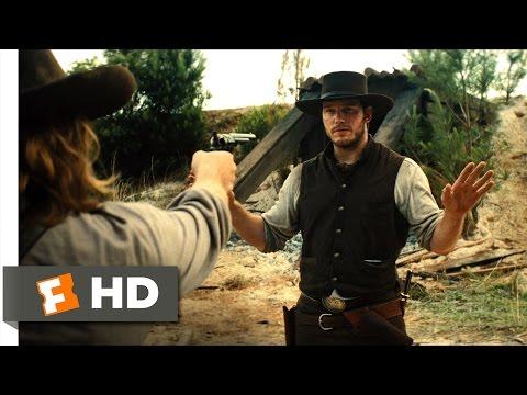 The Magnificent Seven (2016) - Farraday's Magic Trick Scene (2/10) | Movieclips