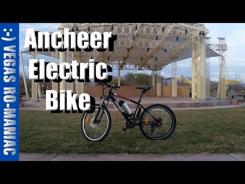 ANCHEER Electric BICYCLE – FIRST PROPER RUN and REVIEW AKA Eshion Cyclamatic