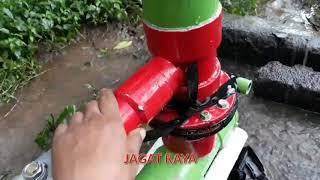 Pompa Hidram PVC 4 inchi, Pipa Hasil 1,5 Inchi Mantap