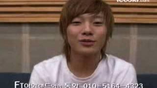 F.T Island - Minhwan`s icooki behind the scene + message