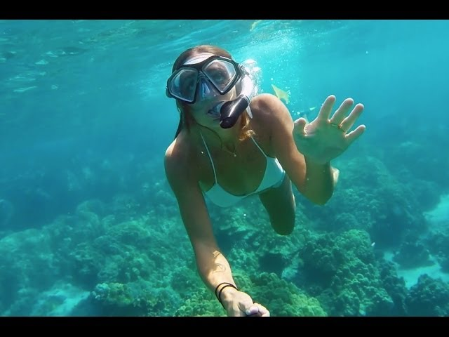 GoPro HERO3+ Black: Snorkeling - Kona, Hawaii
