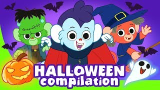 Halloween for Kids | Scary ABC and more spooky cartoons for children