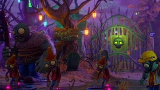 PVZ Garden Warfare 2: FUNNY PAINTINGS Easter Egg Location