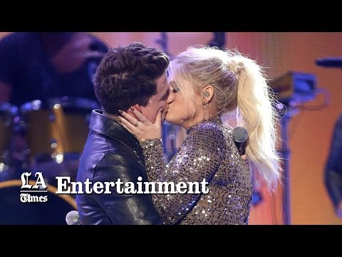 Meghan Trainor And Charlie Puth Kiss Passionately; Are Just Friends | American Music Awards 2015 Mp3