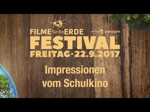 Impressions Schools Cinema Films for the Earth Festival 2017