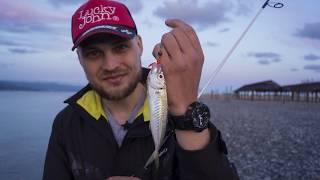 Рыбалка в черном море с берега на ставриду