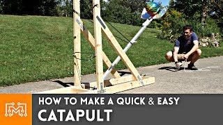 How To Make A Catapult (2 MILLION SUBSCRIBERS!)
