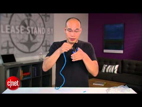 CNET How To – How to make your own network cable and port