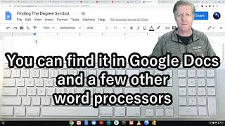How To Find The Degree Symbol On Your Computer Keyboard- Two Methods