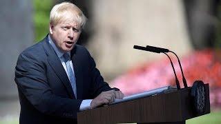 video: In full: Boris Johnson's first speech as Prime Minister