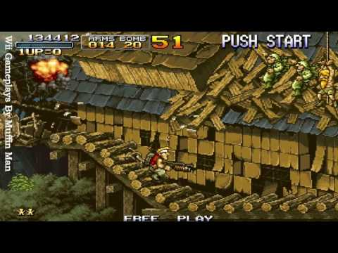 METAL SLUG Anthology Wii Gameplay HD