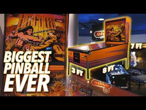 Playing Atari's Hercules, The Biggest Pinball Machine Ever