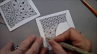 Fassett Tangle Pattern Lesson #43