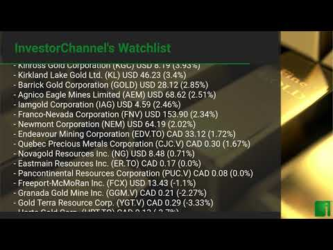 InvestorChannel's Gold Watchlist Update for Monday, July 2 ... Thumbnail