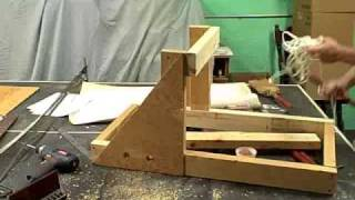 The Wyvern A 3 Foot Torsion Catapult Built  In 23 Minutes