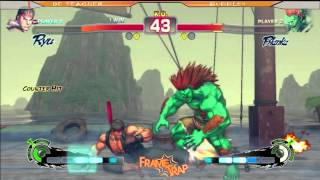 preview picture of video 'SSF4AE: De Teacher [Ryu] vs Bubbles [Blanka]  Frame Trap 2014'