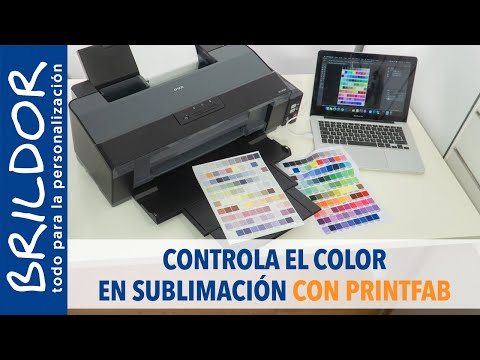 Controla el COLOR EN SUBLIMACIÓN con PrintFab - WINDOWS & MAC