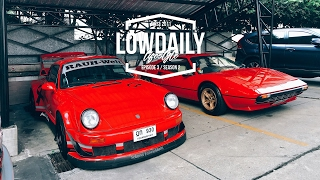 PORSCHE RWB 930, FERRARI 308, BMW E30 M3 EVO2 и др.Trip To Thailand, part 3.