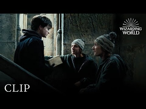 Download The Marauder's Map | Harry Potter And The Prisoner Of Azkaban HD Mp4 3GP Video and MP3
