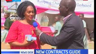 Kisumu Women Rep. Rose Buyu applauds President Kenyatta on the guidelines on contract awarding