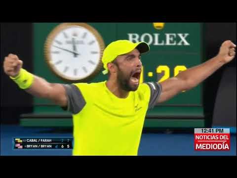 Historico: Cabal y Farah, disputaran final de dobles en Abierto de Australia