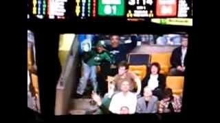 Fan Dancing to Bon Jovi Livin On A Prayer