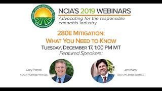 Webinar: 280E Mitigation – What You Need To Know