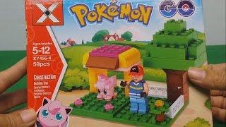 Wigglytuff  - (Pokémon) - đồ chơi Lego Pokemon Go Jigglypuff ( Wigglytuff level 1 ) Toy for kid