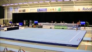 NK 2015 Juliëtte Pijnacker Elite gymnast