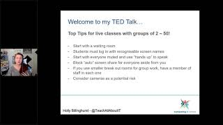 Teaching Groups Using VoIP   Creating Safe Classrooms