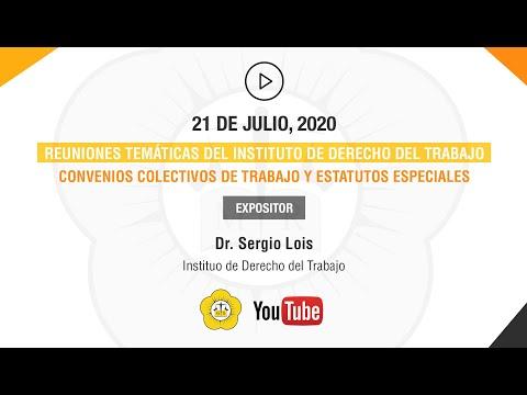 5° CHARLA, REUNIONES TEMÁTICAS DEL INSTITUTO DE TRABAJO - 21 de Julio 2020