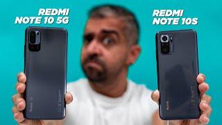 Xiaomi Redmi Note 10 5G vs Xiaomi Redmi Note 10S: CONFUSING!