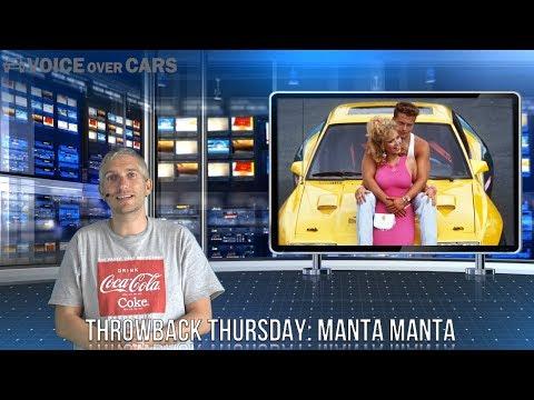 Opel Manta B Throwback Thursday Voice over Cars Manta Manta Til Schweiger Tina Ruland Manta der Film