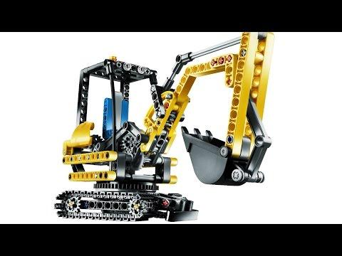 Vidéo LEGO Technic 8047 : La chargeuse compacte