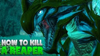 HOW TO UNBURY AND KILL A REAPER KING - Ark Survival Evolved Tips