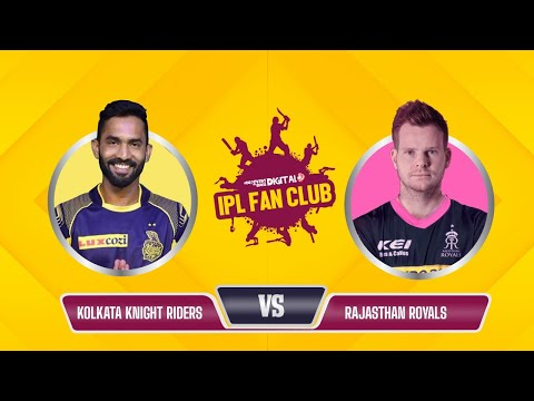 Fantasy League | Dream 11 Team Today | IPL Fan Club - RR vs KKR