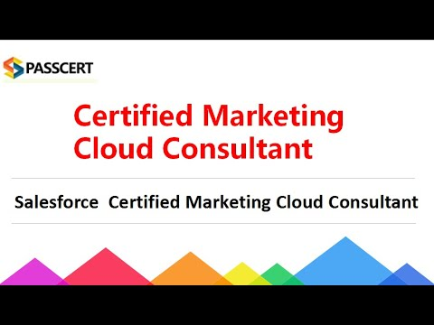 Certified Marketing Cloud Consultant Practice Exam - YouTube