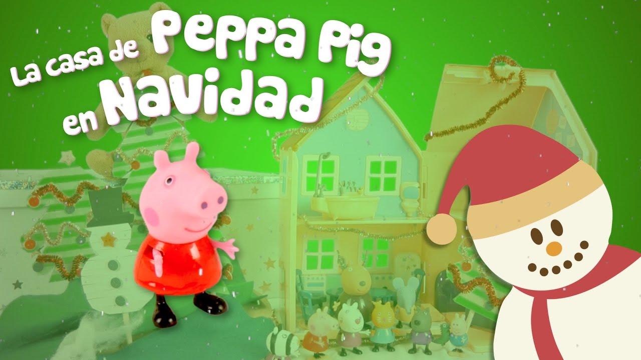 Fiesta de Navidad en casa de Peppa Pig