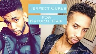HOW TO GET : Perfect Curly Hair (For Black Men | Natural Dry Hair ) | 2015 | TheBrandonLeeCook