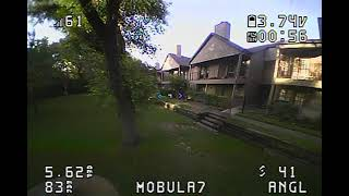 Flying FPV Drone with more confidence(bad video interference) and bonus acro flying for first time
