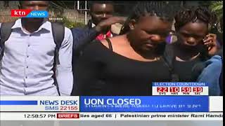 UoN earlier today closed indefinitely by University authorities