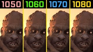 Dying Light GTX 1050 Ti vs. GTX 1060 vs. GTX 1070 vs. GTX 1080