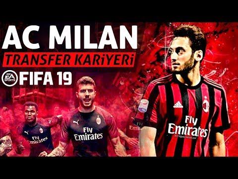 AC MİLAN TRANSFER KARİYERİ // FIFA 19 KARİYER MODU