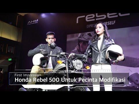 First Impression Honda Rebel 500 Untuk Pecinta Modifikasi I OTO.com