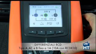 Tutorial prova sui differenziali RCD