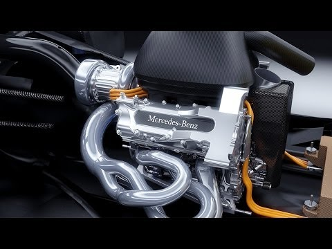Mercedes-Benz Formula One Hybrid Technology – Mercedes-Benz original