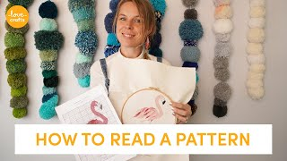 How To Read A Cross Stitch Pattern For Beginners