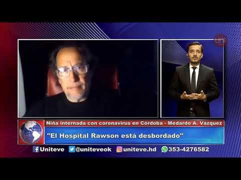Niño internado por coronavirus en Córdoba
