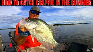 How To Catch Crappie In The Summer