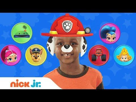 Play Junior Dress Up w/ PAW Patrol, Blaze &amp Bubble Guppies 🐠 Ep. 1Nick Jr.